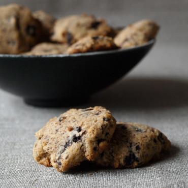 Cookies mit selbstgemachter Schokolade