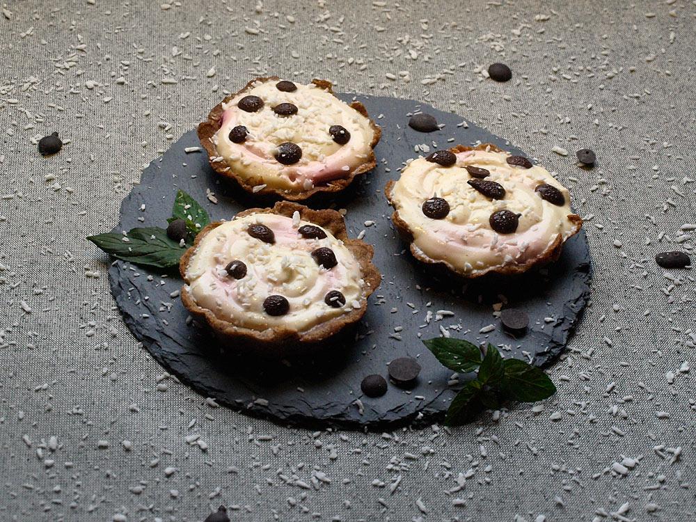 Vanille-Himbeer Tartelettes