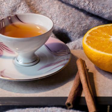 Mandarinen-Thymian-Tee