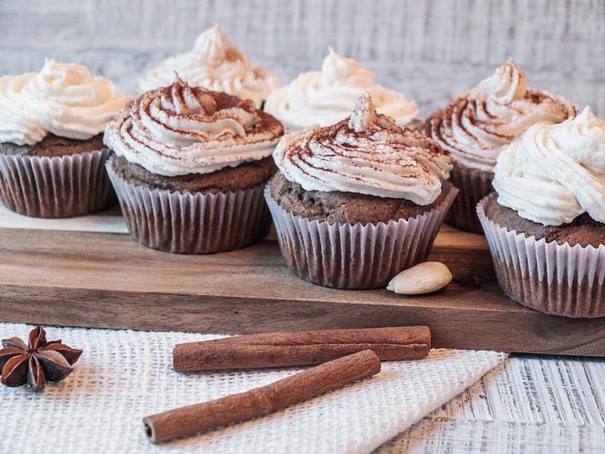 Lebkuchencupcakes