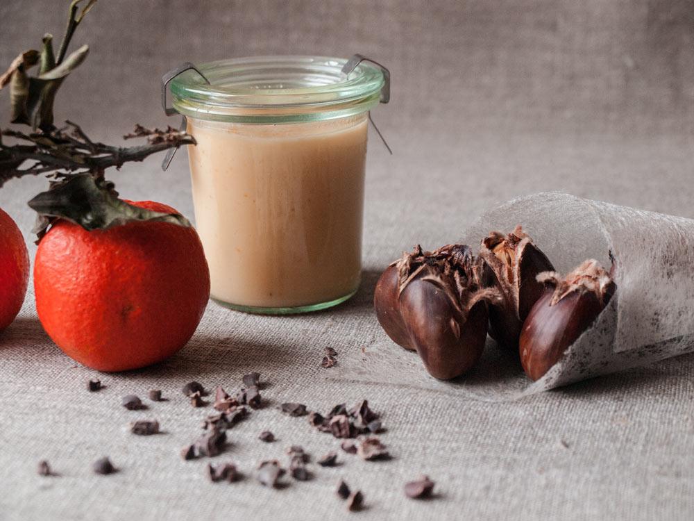Maronen-Orangen-Brownie