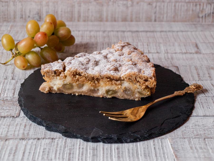 Trauben-Marzipan-Kuchen