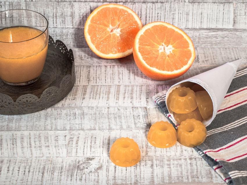 Orangen Gummibärchen