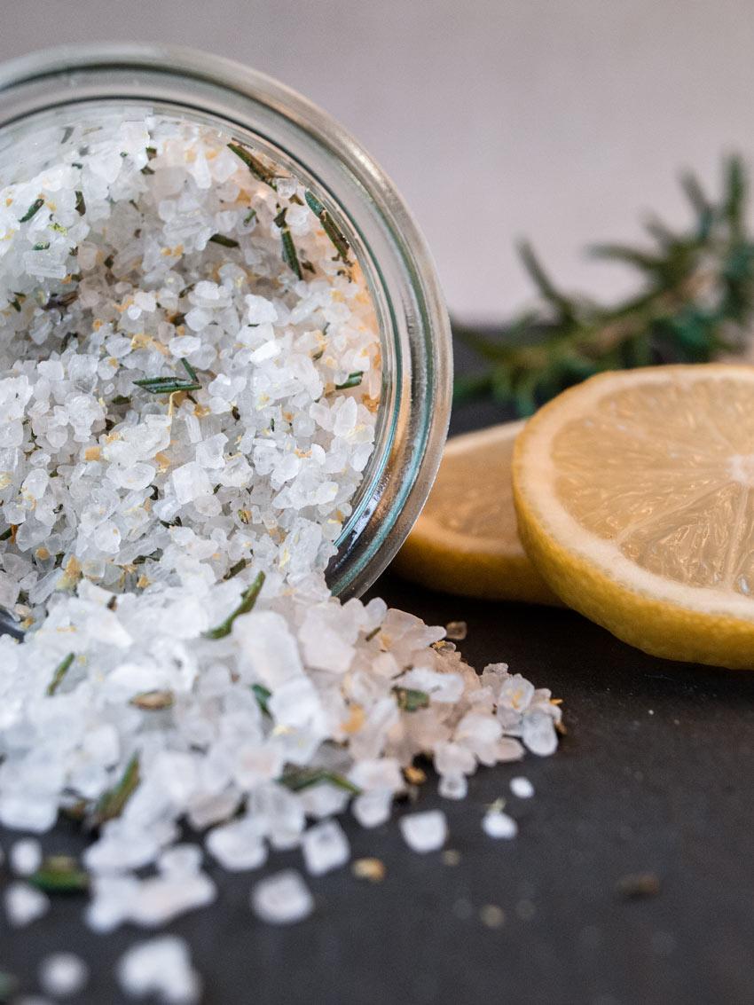 Rosmarin-Zitronen Salz