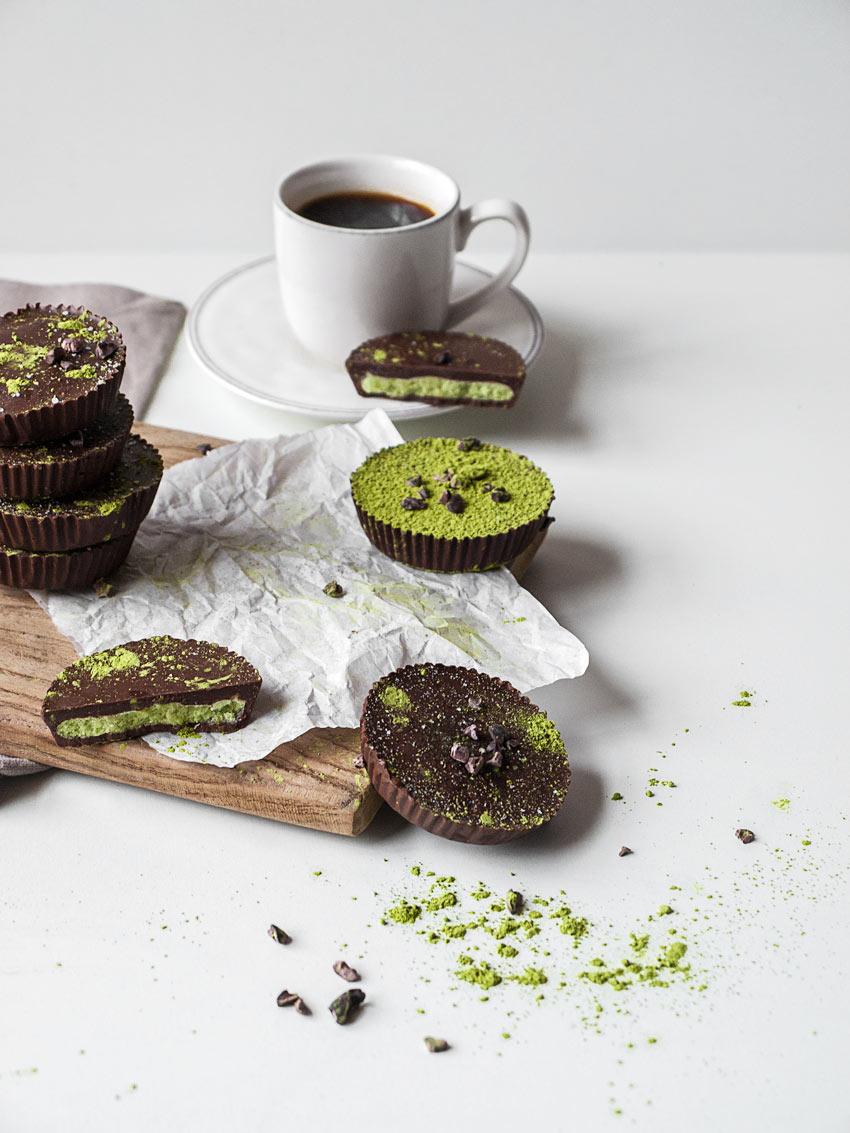 Matcha - Schokoladen Taler