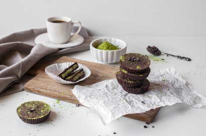Matcha-Schokoladen Taler