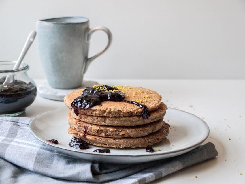Glutenfreie Pancakes