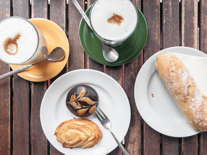 Jute Bäckerei Frühstück