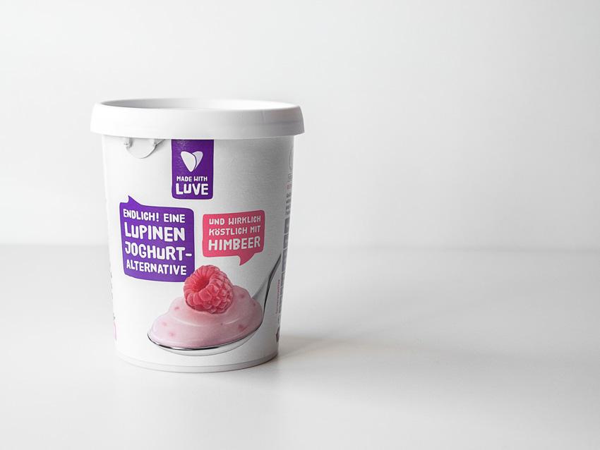 Süßlupinenjoghurt