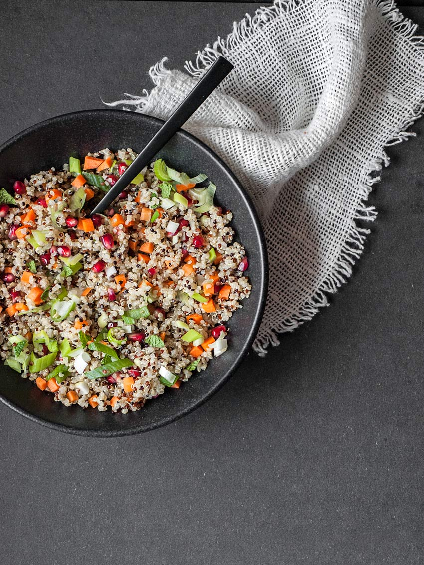 Sommerlicher Quinoa-Salat