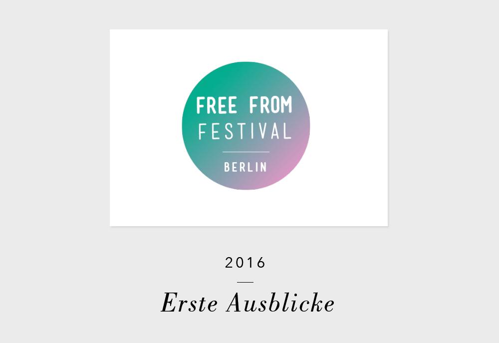 Free From Festival Deutschland