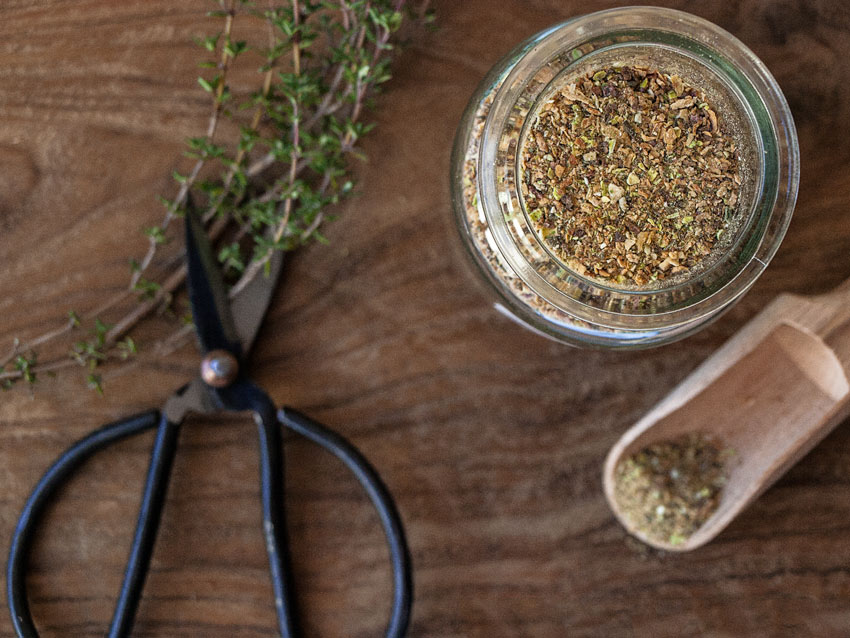 Gemüsebrühe als Pulver ohne Sellerie