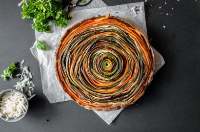 Glutenfreie Gemüsetarte