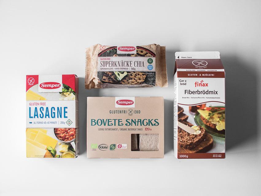 Glutenfreie Lebensmittel aus Schweden