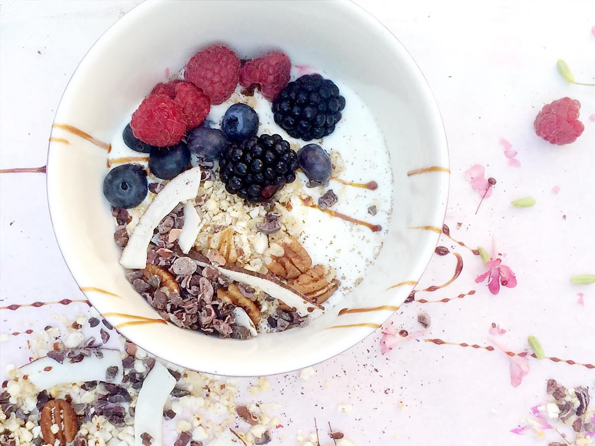 Superfood-Müsli von Jennylicious