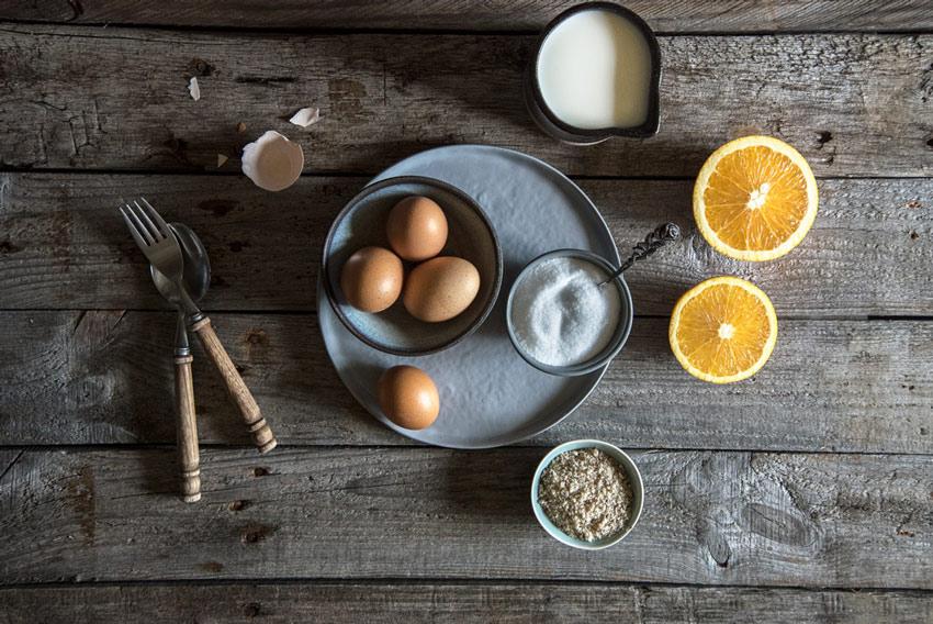 Glutenfreie zuckerfreie Schokoladen-Orangentorte