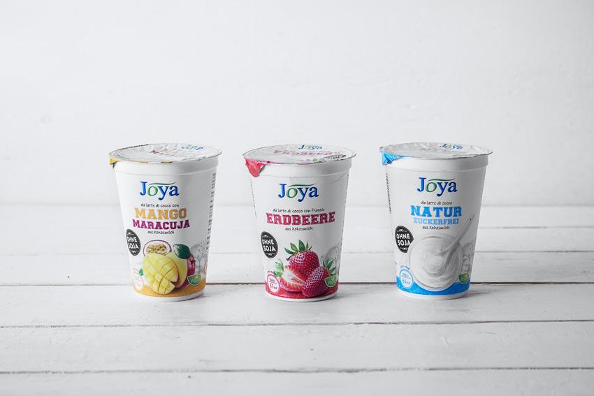 Joghurt auf Kokosbasis Joya