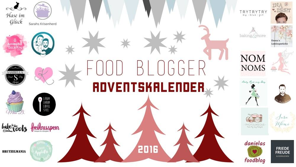 Teilnehmer Food Blogger Adventskalender