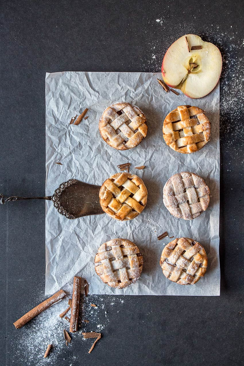 Gesunde Apple Pies