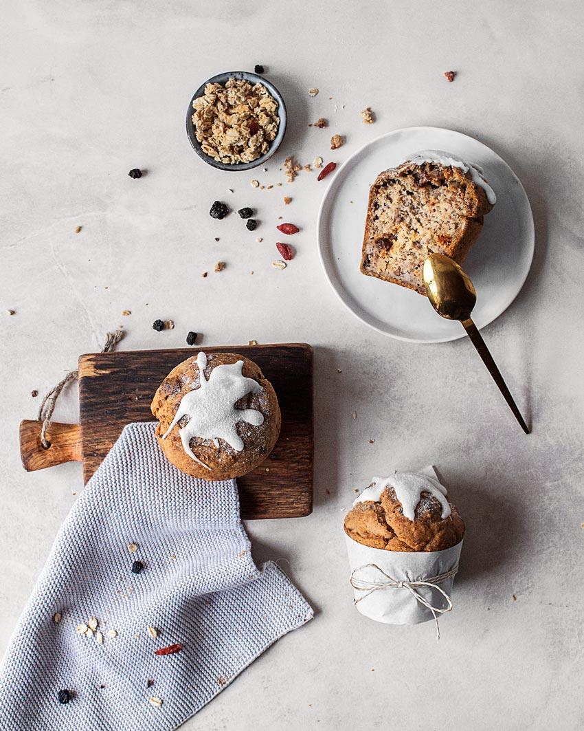 Gesunde Frühstückstörtchen