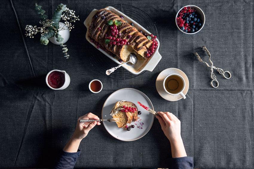 Bofrost glutenfreies Brot Frenchtoast