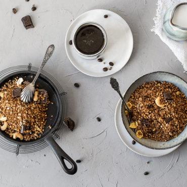 Glutenfreies Kaffee-Granola
