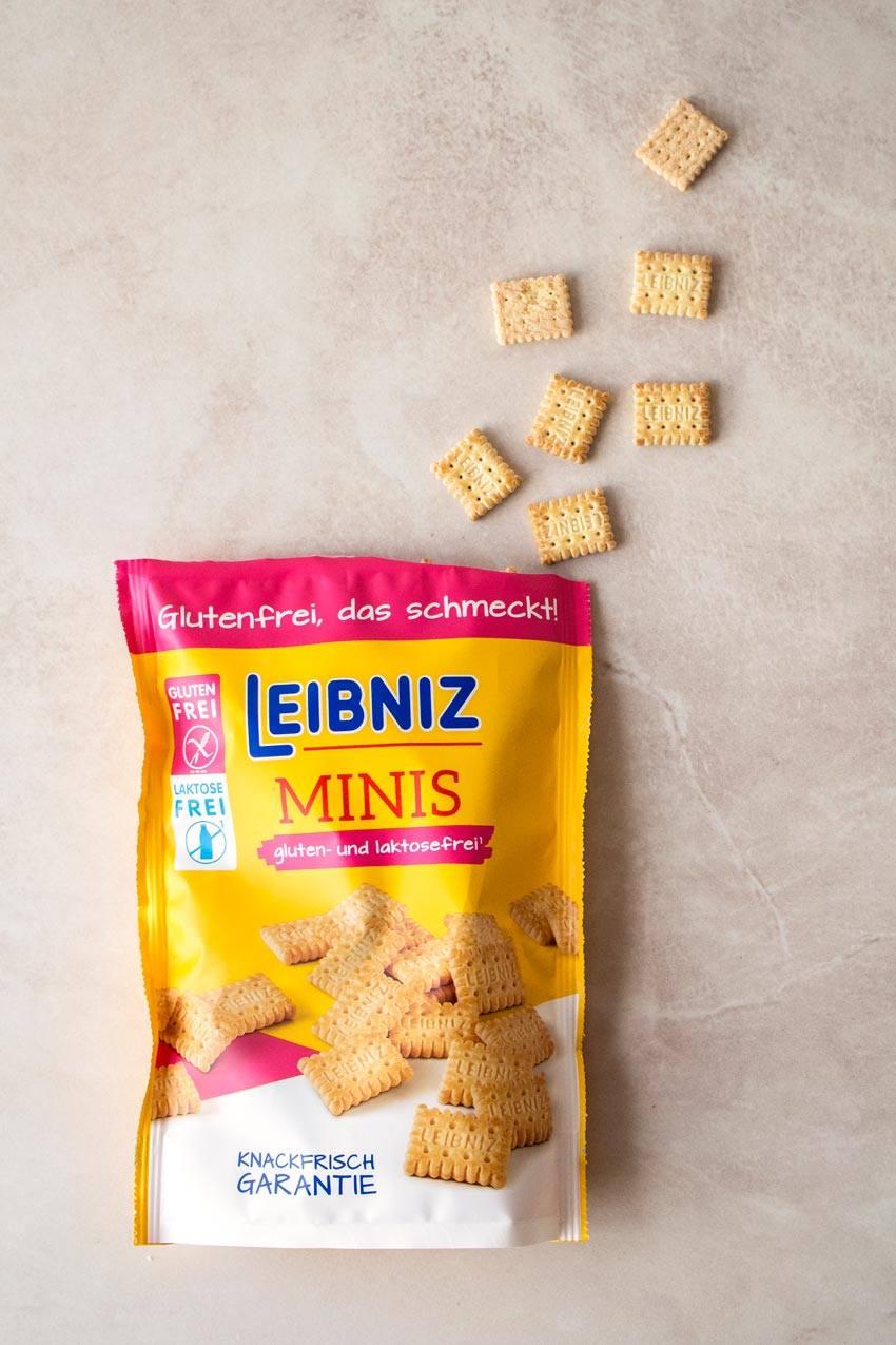 Glutenfreie und laktosefreie Kekse von Leibniz