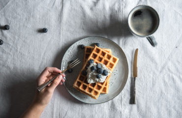 glutenfreie und vegane Waffeln zuckerfrei
