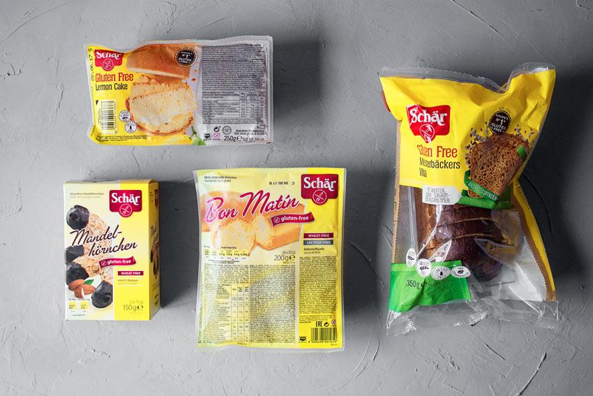 glutenfreie Produkte Schär