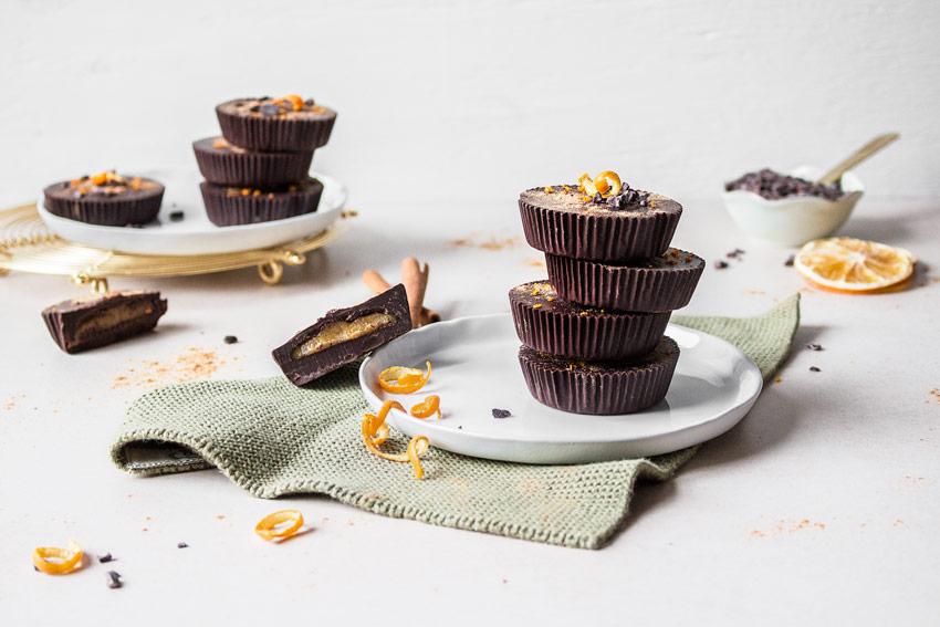 Gesunde Schokoladen-Taler