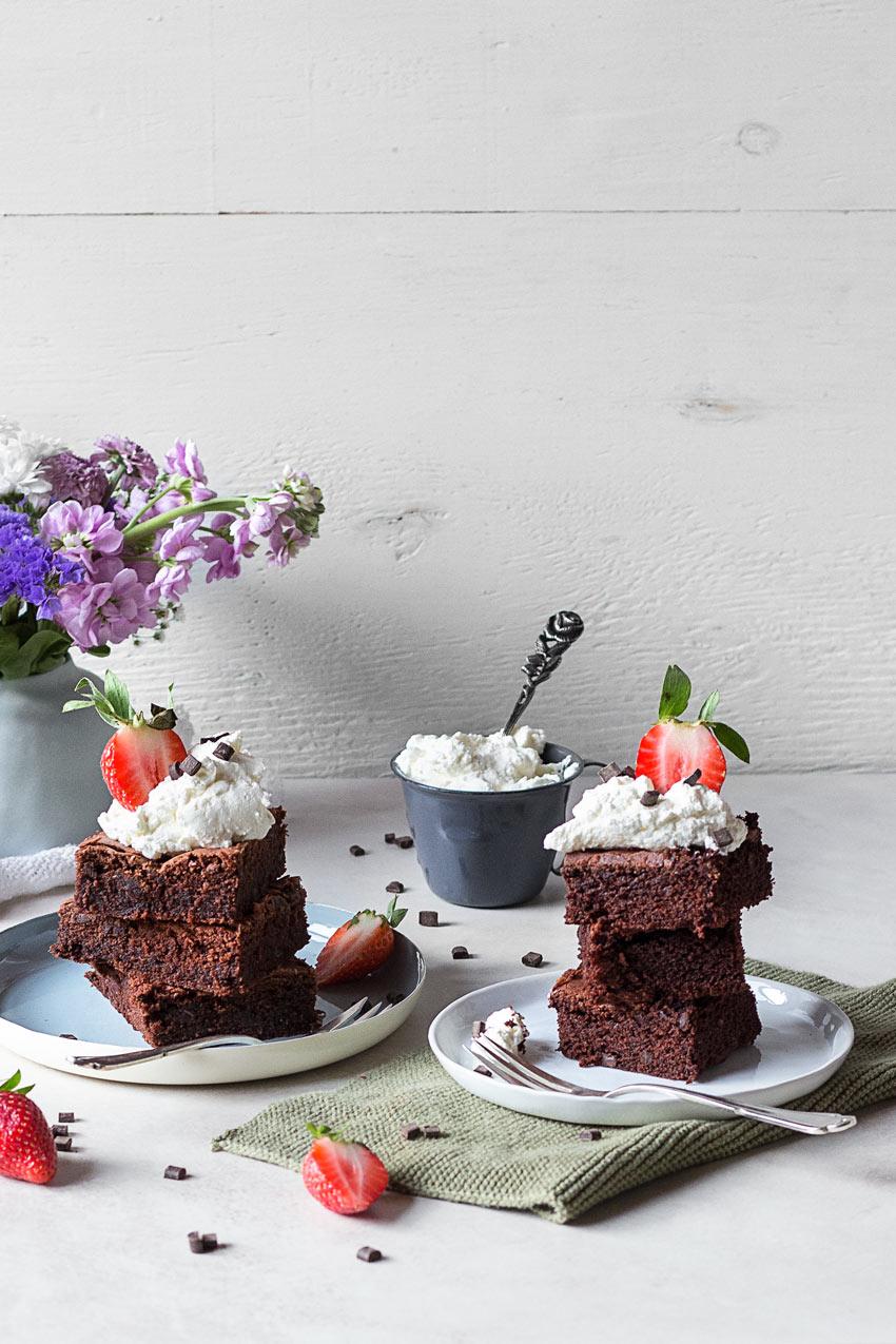 Glutenfreie Brownie Backmischung im Test