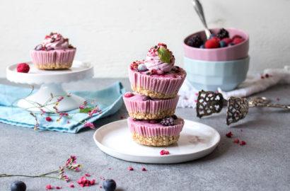 Frozen Yoghurt Bites vegan und glutenfrei