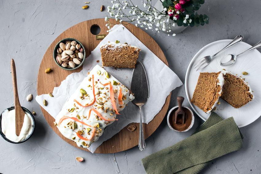 Glutenfreier Und Veganer Karottenkuchen Freiknuspern
