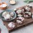 Schoko Crinkle Cookies (glutenfrei und vegan)