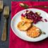 Süßkartoffel-Toast mit Cranberry-Chutney / Vorspeise Weihnachtsmenü 2019 (glutenfrei und vegan)