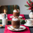 Schnelle Mousse au Chocolat aus 2 Zutaten / Nachspeise Weihnachtsmenü 2019 (glutenfrei und vegan)