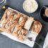 Saftiger Birnen-Rührkuchen mit Karamell-Topping (glutenfrei und vegan)
