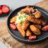Einfache Süßkartoffel-Kroketten (glutenfrei & vegan)