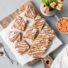 Karottenblondies ohne Mehl  (glutenfrei & vegan)
