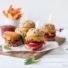 Cheeseburger-Muffins (glutenfrei & vegan)