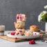 Johannisbeer-Zitronen Muffins (glutenfrei & vegan)