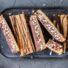 Köstliche Schoko-Puffreisriegel mit Cookie Dough Schicht (glutenfrei & vegan) *mit Videoanleitung
