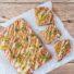 Schnelle Apfelblondies ohne Mehl (glutenfrei & vegan)