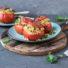 Gefüllte Tomaten als Grill-Beilage