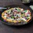 Kürbis-Pizza ohne Hefe und ohne Mehl (glutenfrei und vegan) *mit Videoanleitung