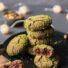 Schnelle Pistazien-Zimt Crinkle Cookies ohne Mehl (glutenfrei & vegan)