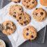 Choco Chip Cookies ohne Mehl (glutenfrei & vegan) *mit Videoanleitung