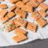 Einfache Pizzacracker ohne Mehl (glutenfrei & vegan) *mit Videoanleitung