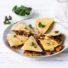 Kichererbsen-Quesadilla (glutenfrei & vegan) *mit Gewinnspiel