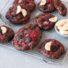 Schoko-Bananen Cookies mit Erdbeeren (glutenfrei & vegan) *mit Videoanleitung